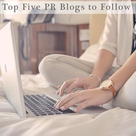 Top Five PR Blogs to Follow